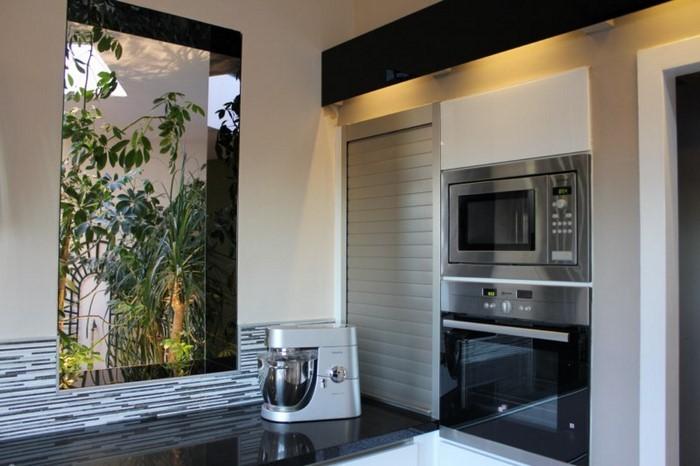 relooking d 39 une cuisine en noir et blanc as de carreaux le blog. Black Bedroom Furniture Sets. Home Design Ideas