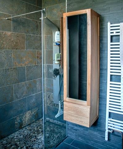Une salle de bain au naturel - As de Carreaux - Le blog