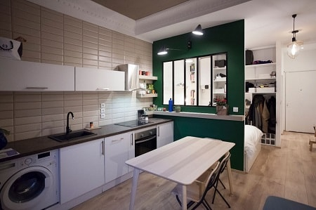 un studio se pare de metro as de carreaux le blog. Black Bedroom Furniture Sets. Home Design Ideas
